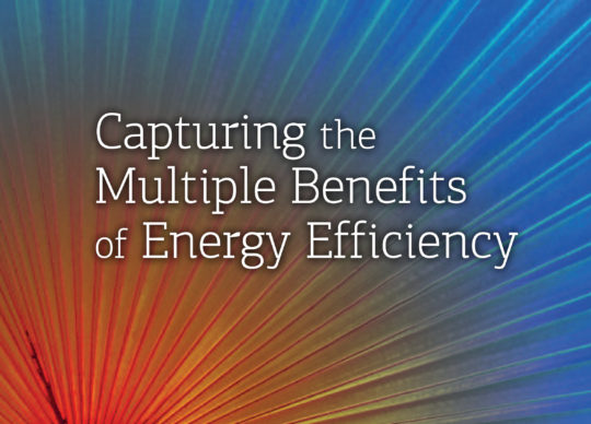Capturing the Multiple Benefits of Energy Efficiency
