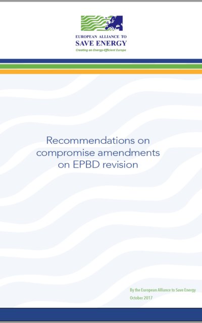 Recommendations on compromise amendments on EPBD revision