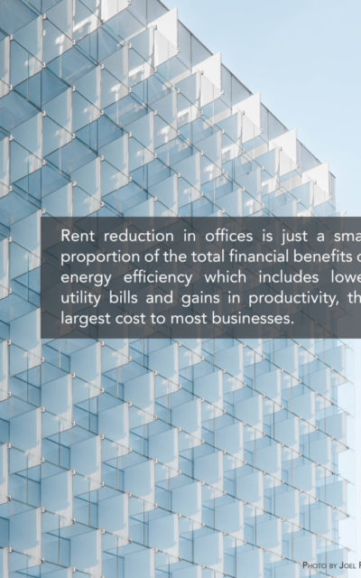 New research finds USD 1.5 trillion in potential cost savings in office buildings