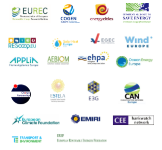 In support of at least 35% earmarking for climate-related work in FP9