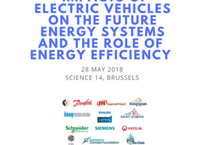 EU-ASE Workshop on the impacts of electric vehicles on energy systems and the role of energy efficiency