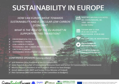 EU-ASE at Sutainability in Europe