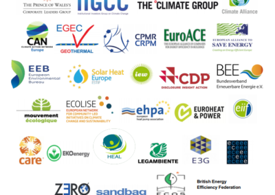 EU-ASE joins European businesses, local authorities and NGOs urging EU leaders to step up climate action