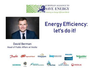 Op-ed: Energy Efficiency – let's do it!