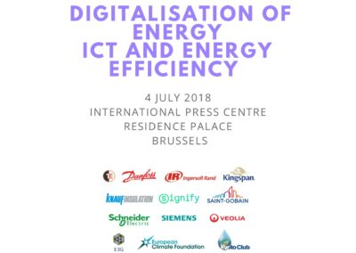 EU-ASE Workshop on Smart Energy, ICT and Energy Efficiency