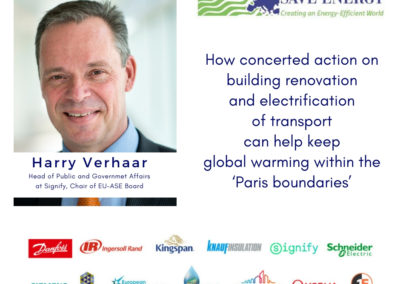 Op-ed: How concerted action on building renovation and electrification of transport can help keeping global warming within the 'Paris boundaries'