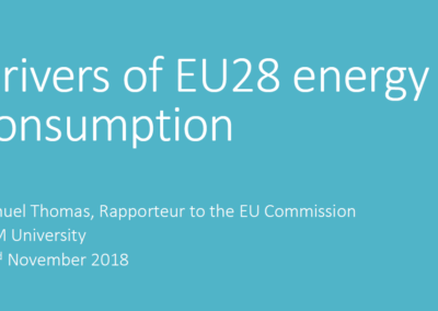 Leonardo Energy Webinar: Energy Consumption in Europe – why is it increasing and what are the policy implications?