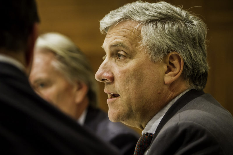 Antonio Tajani, Vice-President of the European Commission at the Second Annual EU-ASE Dinner, Brussels, 18 September 2012