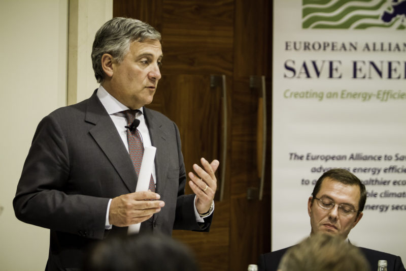 Antonio Tajani, Vice-President of the European Commission, at the Second Annual EU-ASE Dinner, Brussels, 18 September 2012