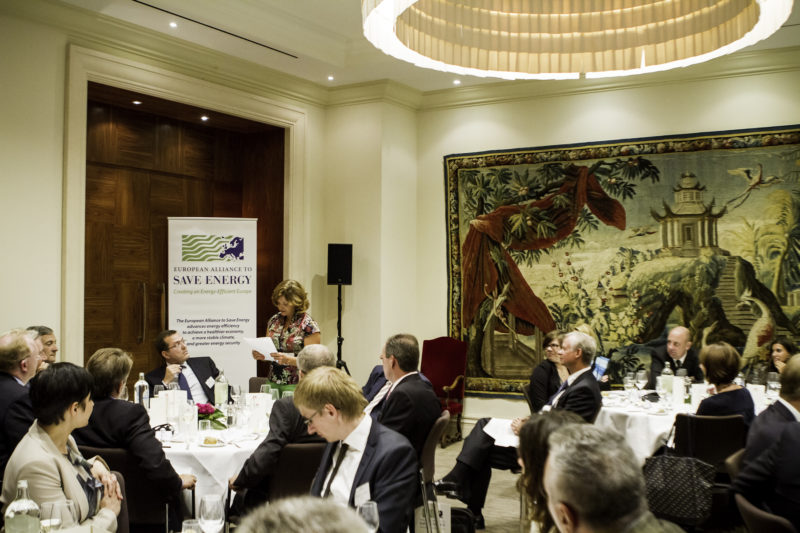 Second Annual EU-ASE Dinner at the Hotel Amigo in Brussels, 18 September 2012