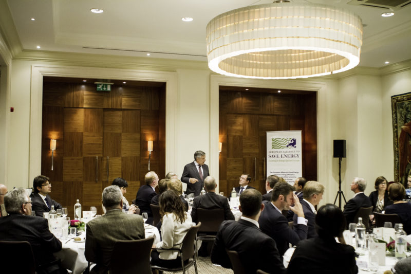 Second annual EU-ASE high-level dinner debate with Commissioner Tajani, Brussels, 18 September 2012