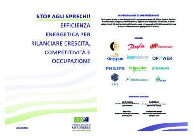 """Note to the Italian Prime Minister: """"Stop agli sprechi!"""""""
