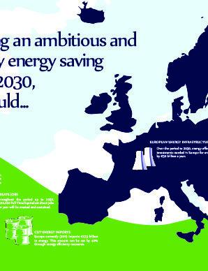 """The case for European Energy Saving Target for 2030"""