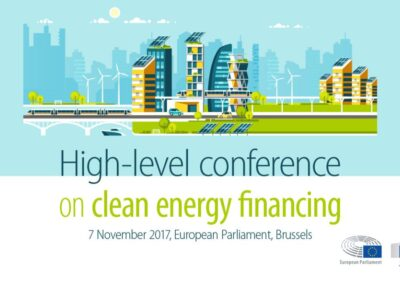 High Level Conference on Clean Financing #CleanEnergyEU