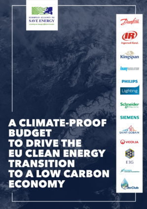 A climate-proof budget to drive the EU clean energy transition to a low carbon economy