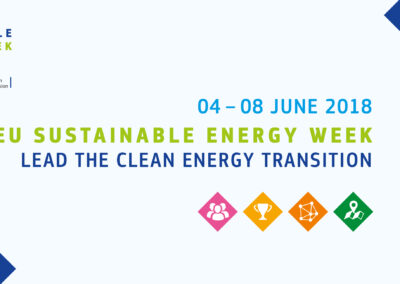 EU-ASE at the EU Sustainable Energy Week 2018