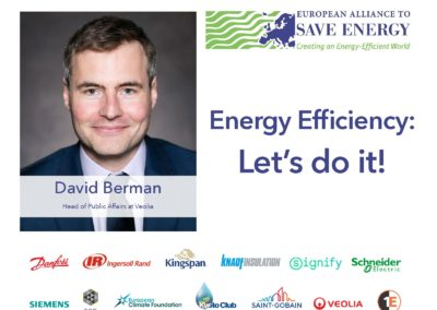 Op-ed: Energy Efficiency – let's do it!