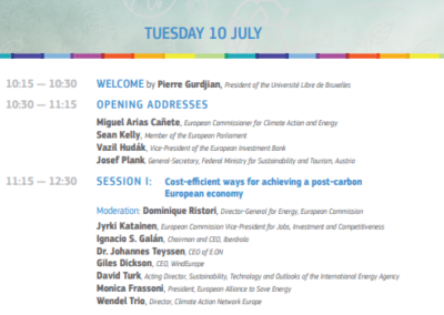 EU-ASE at the EU Commission's stakeholder event 'EU's vision for a modern, clean and competitive economy'