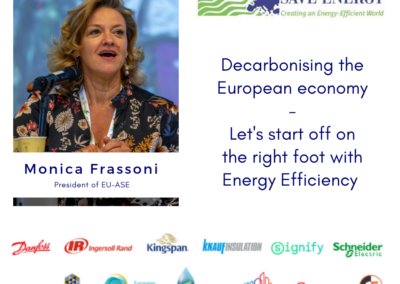 Op-ed: Decarbonizing the European economy – Let's start off on the right foot with Energy Efficiency First