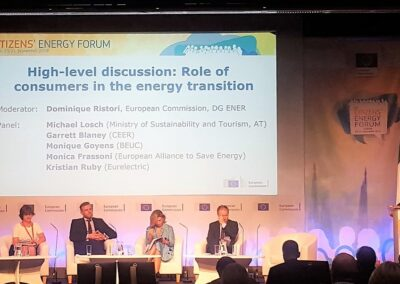 Energy efficiency at the center of 10th Citizens' Energy Forum in Dublin