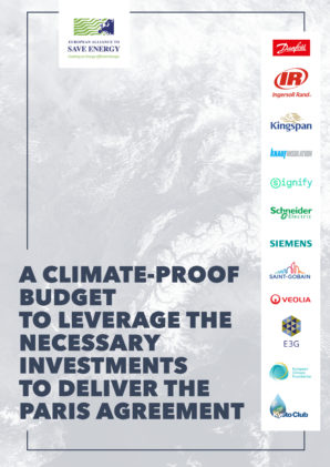 A climate-proof budget to leverage the necessary investments to deliver the Paris Agreement