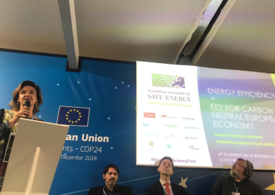 At COP24, President underlines that Energy Efficiency comes first, but needs to work in synergy