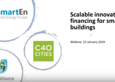 Webinar: Scalable Innovative Financing for Smart Buildings