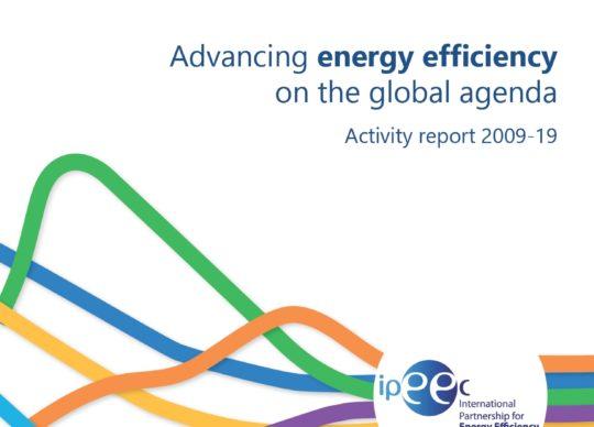 Advancing energy efficiency on the global agenda