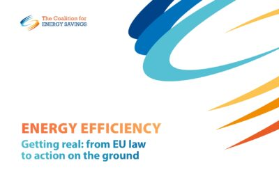 New stakeholder recommendations on fulfilling the EU's annual energy savings requirement