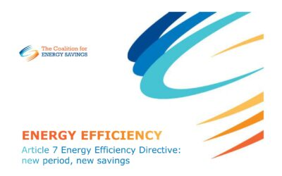 Art. 7 Energy Efficiency Directive: new period, new savings