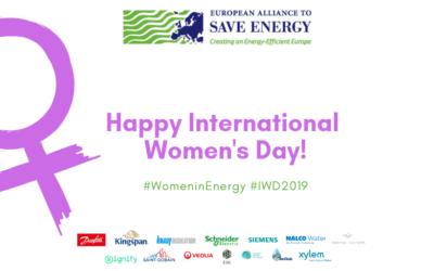 EU-ASE is female! Happy International Women's Day 2019