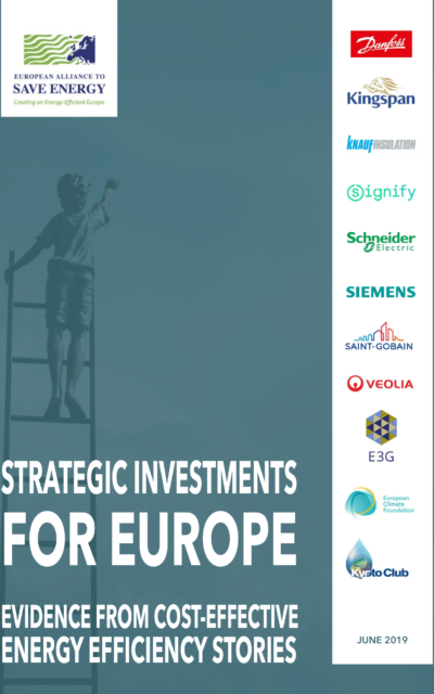 Strategic investments for Europe – Evidence from cost-effective energy efficiency stories