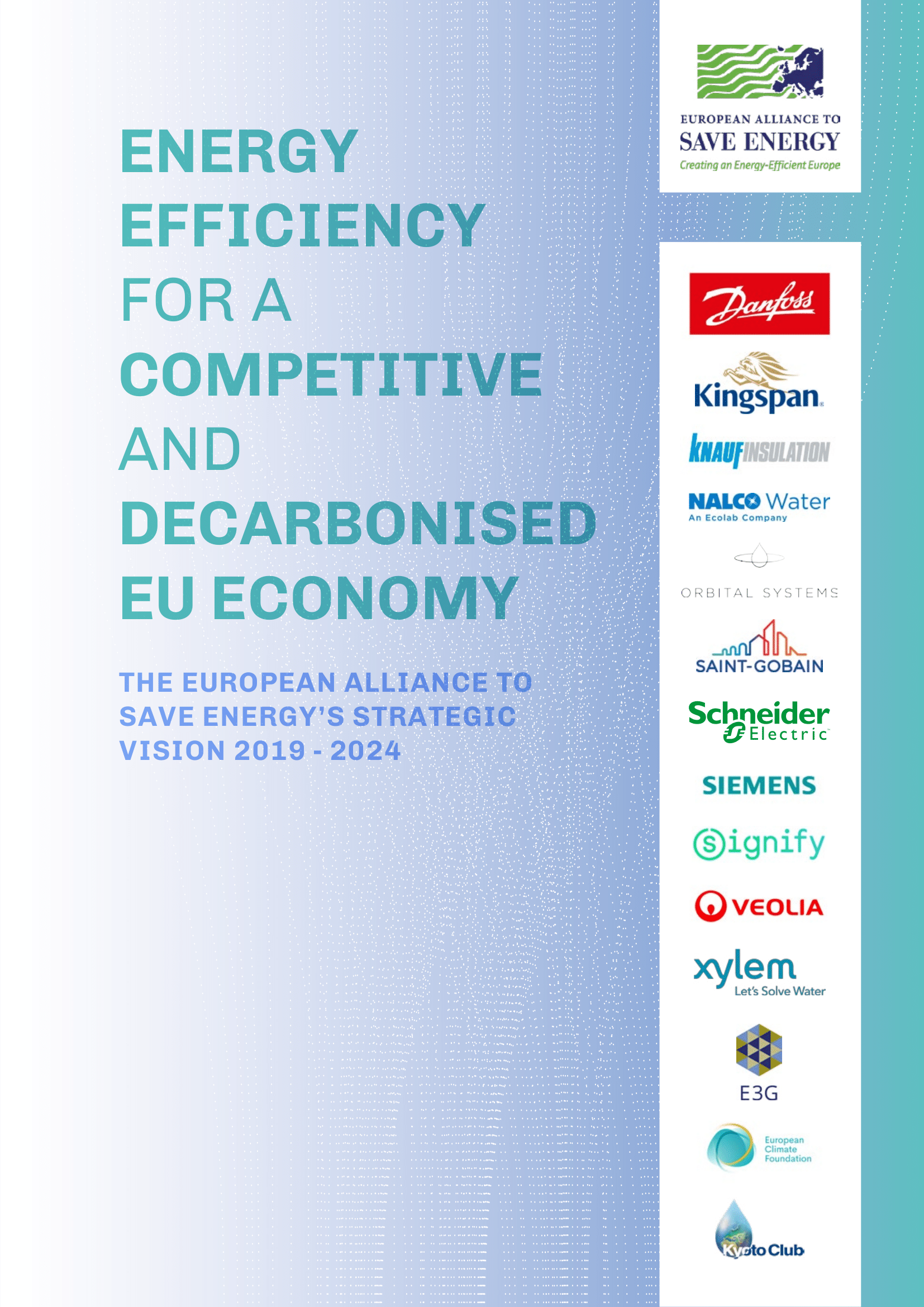 Energy Efficiency for a competitive and decarbonised EU economy