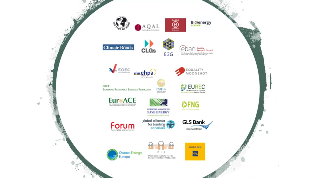 Support for EIB 2020 Pledge to stop fossil energy lending