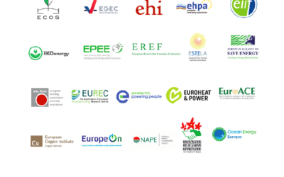 Joint call to EU leaders: #EUGreenRecovery to restart Europe