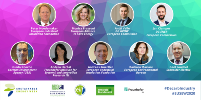 Decarbonising industry and the ICT Sector (EUSEW 2020 side event)