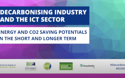 Webinar: Decarbonising Industry and the ICT Sector (EUSEW 2020 side event)