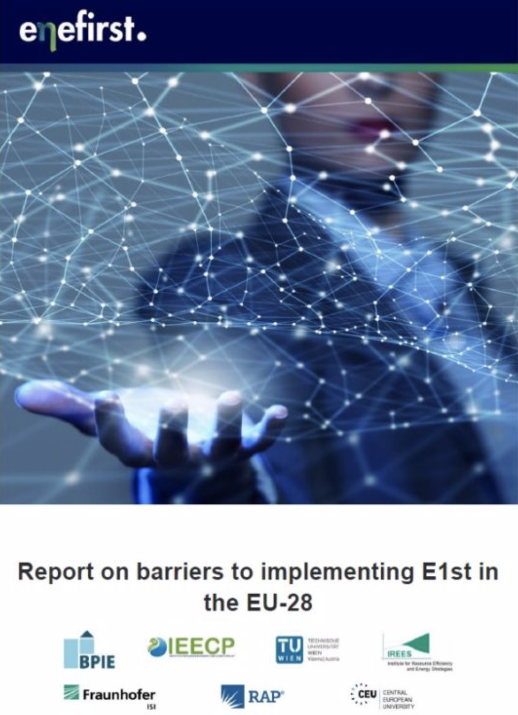 Enefirst report – Barriers to implementing E1st in the EU-28