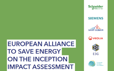 Response to the Roadmap on the revision of the Energy Efficiency Directive
