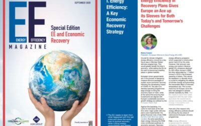 EU-ASE featured in Energy Efficiency Magazine 2020 – EE and Economic Recovery
