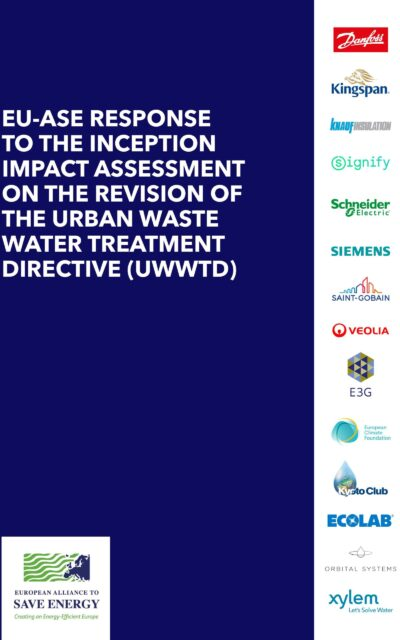 EU-ASE response to the Inception Impact Assessment on the Revision of the UWWTD
