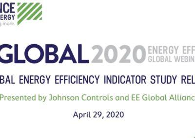 EU-ASE at EE Global 2020 – Global Energy Efficiency Indicator Study Release