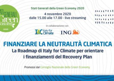 EU-ASE at Stati Generali Green Economy 2020 – Finanziare la neutralità climatica (Italy)