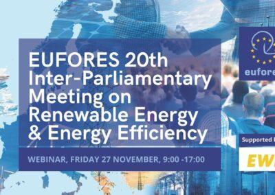 EU-ASE at EUFORES 20th Inter-Parliamentary Meeting