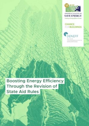 Boosting energy efficiency through the revision of State Aid rules