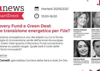 EU-ASE at Recovery Fund e Green Deal: quale transizione energetica per l'UE (Italy)