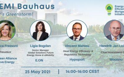 EU-ASE at 6th EEMI Bauhaus webinar