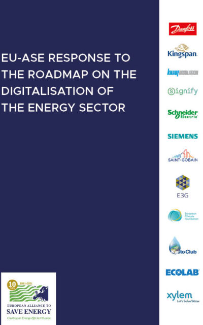 Response to the Roadmap on the Digitalisation of the Energy Sector