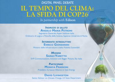 EU-ASE at Il tempo del clima. La sfida di COP26
